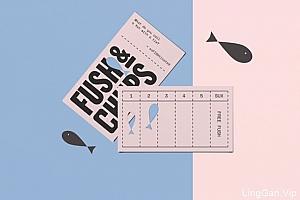 国外Fush & Chups快餐品牌视觉形象VI设计
